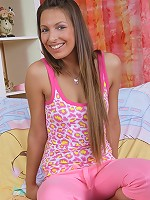 This naughty teen Lira needs only a load of fresh sperm